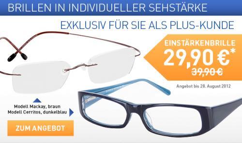 Leichte (Fassung: 8g), rahmenlose, braune Titanflex Brille für M&F in Sehstärke, 10€ gespart bei Brille24