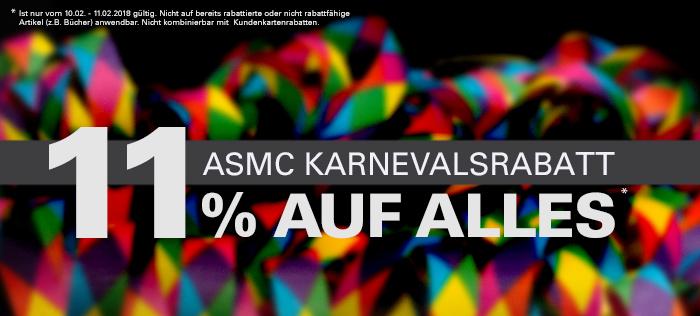 11% Rabatt auf alles bei ASMC.de