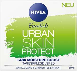 [Amazon Sparabo] NIVEA Urban Skin Protect - 3er Pack Tagespflege 3 x 50 ml