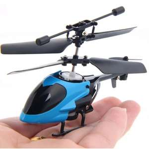 [Rosegal] QS QS5013 Mini/Micro RC Helikopter für 3,68 /  Flashing Light Mini Infrared Induction Flying Helikopter für 2,42 auf Gamiss