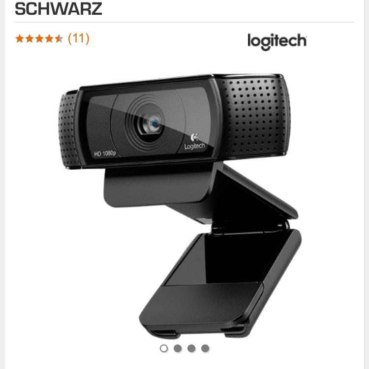 Saturn / ebay LOGITECH HD PRO C920, WEBCAM, SCHWARZ