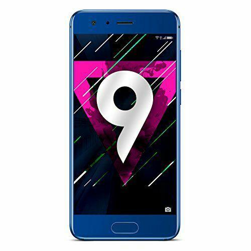 "Smartphone 5.15"" Honor 9 - Full HD IPS, Kirin 960, RAM 4 GB, ROM 64 GB, Blau"