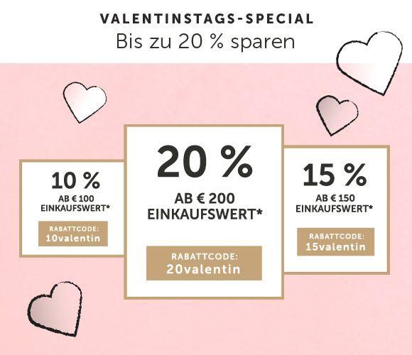 Christ Schmuck Gutschein 10% ab 100€, 15% ab 150€, 20% ab 200€