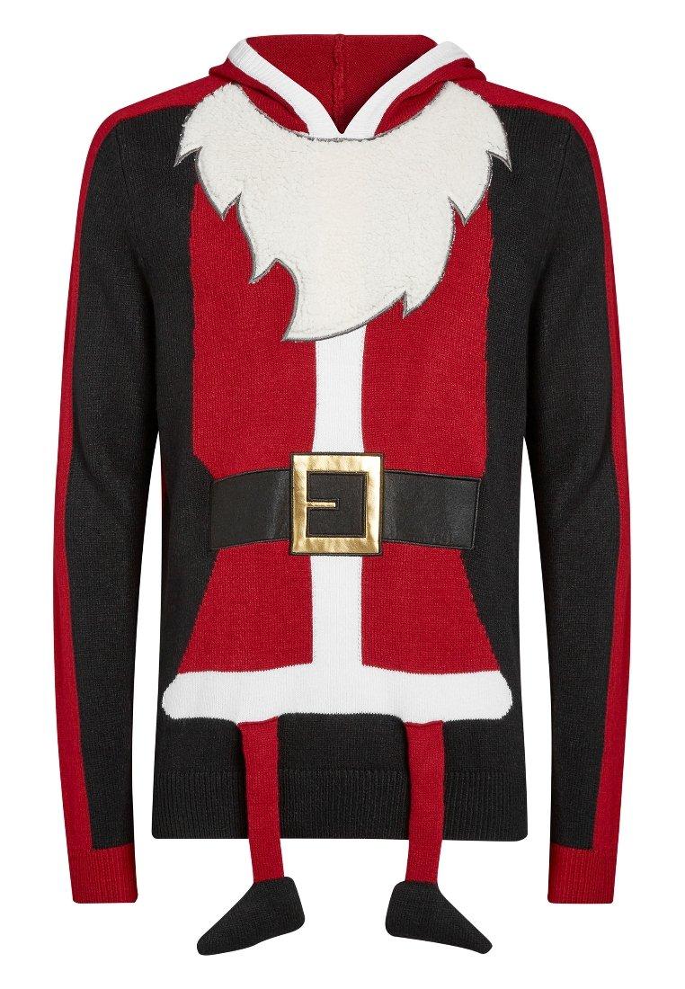Next CHRISTMAS SANTA HOODY - Strickpullover