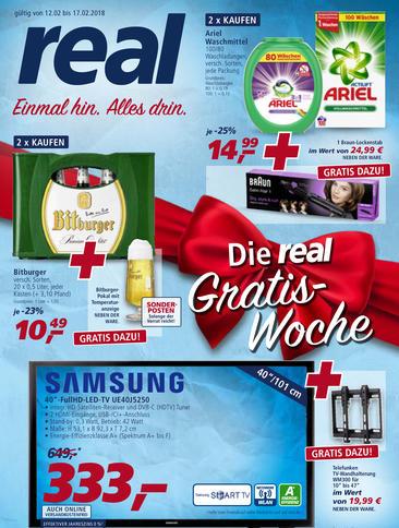 """[real] Samsung 40"""" UE40J5250 + gratis dazu: Telefunken TV-Wandhalterung"""