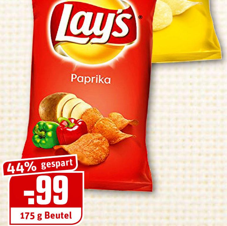 Lay's Kartoffelchips für nur 99 Cent (Rewe Dortmund)