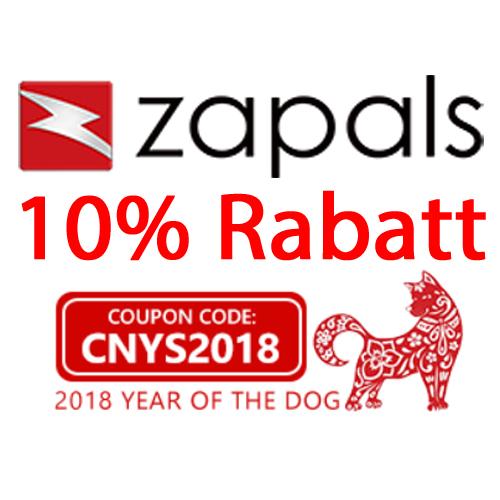 [Zapals] 10% Rabatt auf alles bei Zapals (aktualisiert)