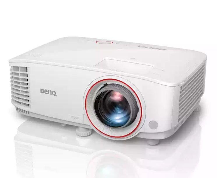 BENQ TH671ST Kurzdistanzbeamer (fürs Gaming) - DLP, Full HD, 3D, 3.000 ANSI Lumen, 10.000:1 Kontrast, MHL, 2x HDMI