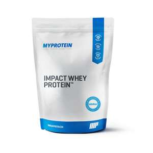MyProtein 35% auf Impact Whey und 30% auf den Rest