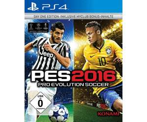 Pro Evolution Soccer PES 2016 Day One Edition PlayStation 4 PS4 [Lokal Altenburg Müller]