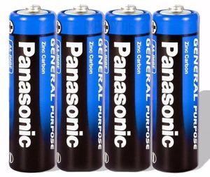 Panasonic 1,5V AA Mignon Batterien LR6 x 4 Stück inkl. VSK [ebay]