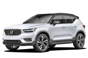 gewerbeleasing volvo xc40 suv f r 159 00 netto 189. Black Bedroom Furniture Sets. Home Design Ideas