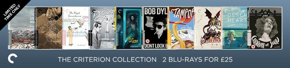 Der feuchte Traum eines jeden Cineasten: Zwei Criterion Collection Blu-rays für je 12,70€, darunter Werke von Akira Kurosawa, Andrei Tarkovsky u.v.m.  [Zoom]