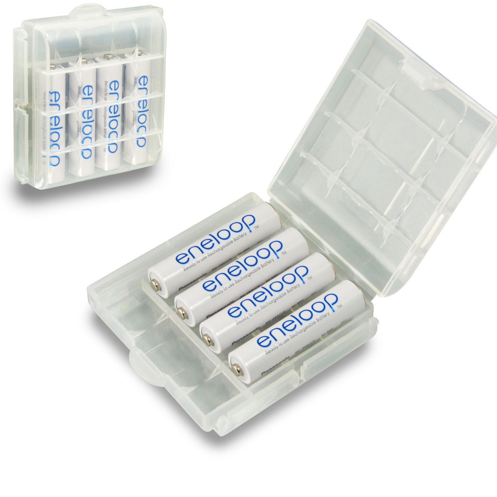 [Ebay.PL] 8x Panasonic Eneloop AAA Micro Akku LR03 800mAh + 2x Akku-Box = 5,58€ (Lieferung aus DE) oder die (AA Version LR06 für 9,59€)