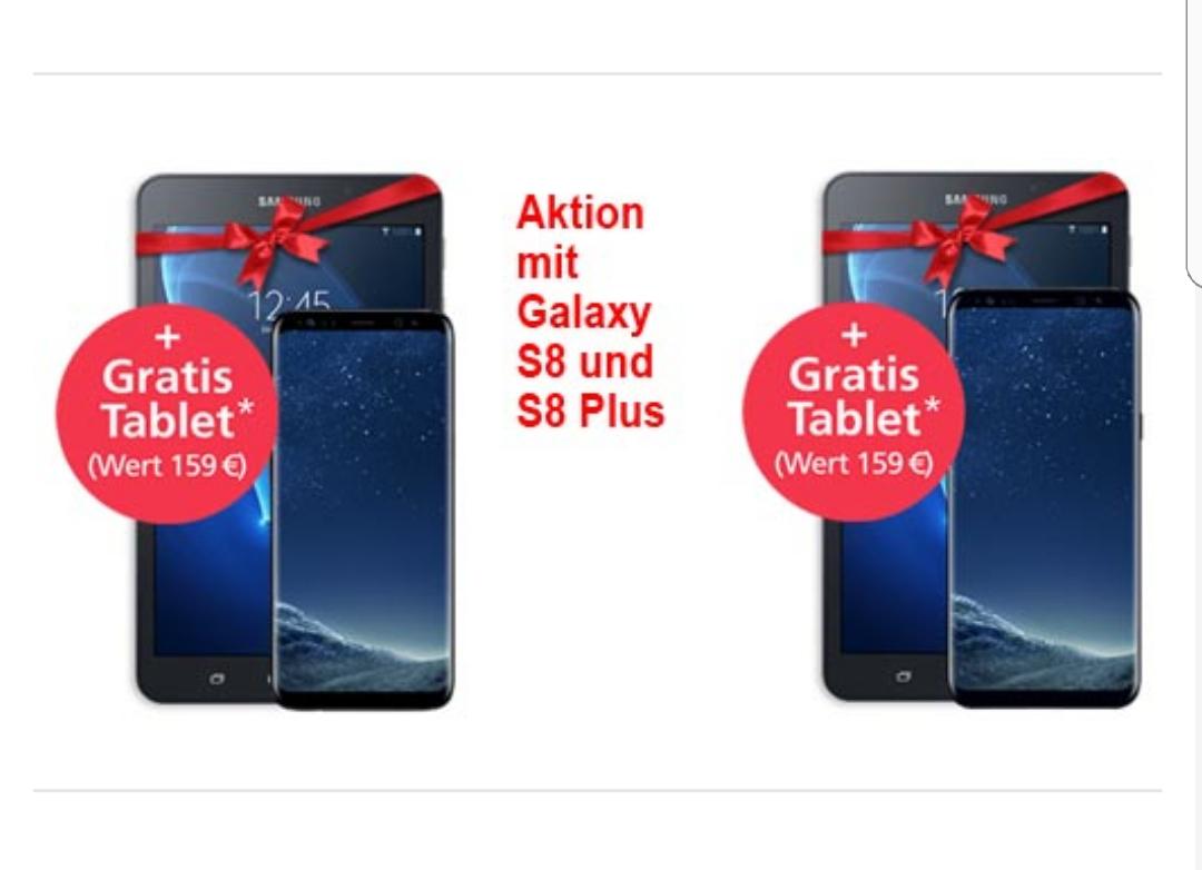 O2 JUNGE LEUTE: Samsung G. S8 mit Tablet und 15 GB LTE Allnet-Flat