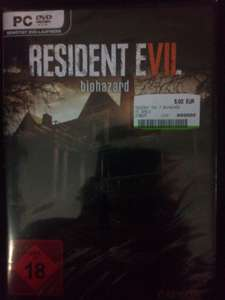 Resident Evil 7 PC 5€ & Xbox One 15€ (Media Markt Lokal Neumünster)