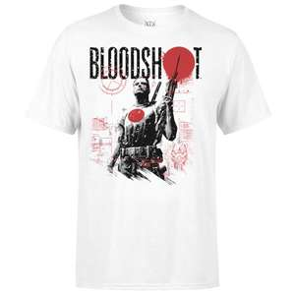 Original lizensierte Valiant Comics Bloodshot Shirts für 11,99€ (+1,99€)
