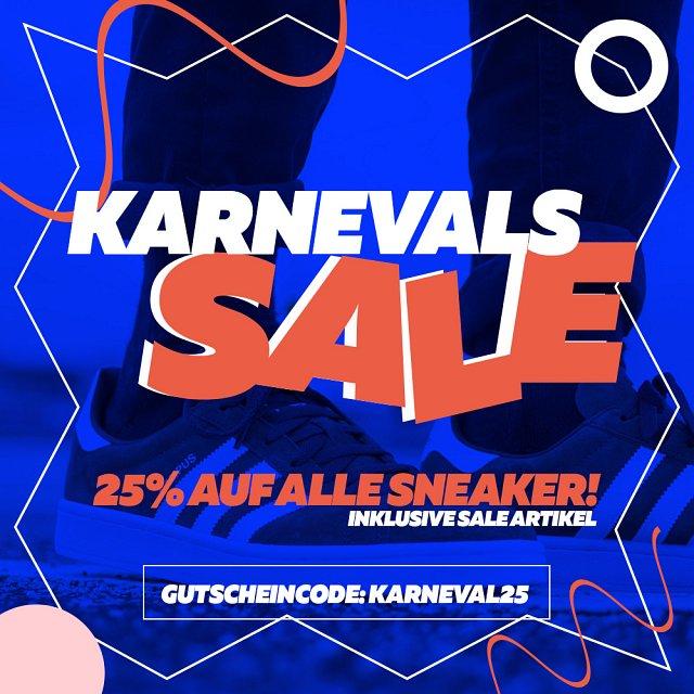 25% Rabatt auf Sneaker bei Burner.de