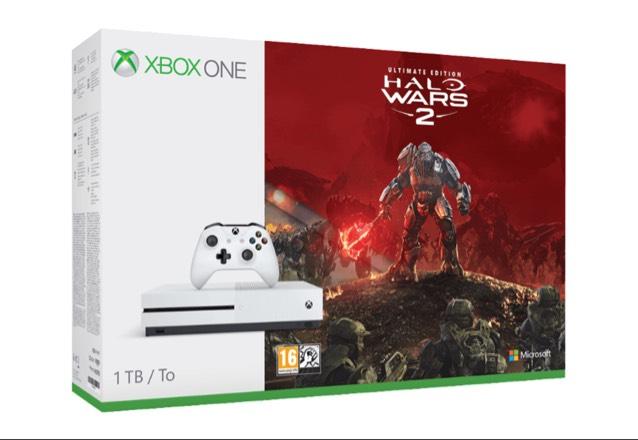 Xbox One S 1TB in 3 verschiedenen Bundle (Gears of War Bundle, Fifa 17 Bundle, Halo Wars 2 Bundle) [Saturn]