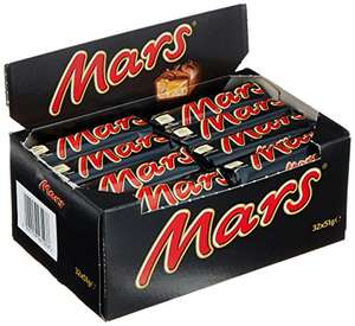 Mars, 32 Riegel (32 x 51 g) (Amazon Prime)