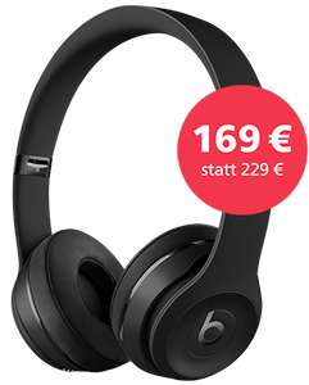 Beats Solo3 Wireless, Schwarz (o2)