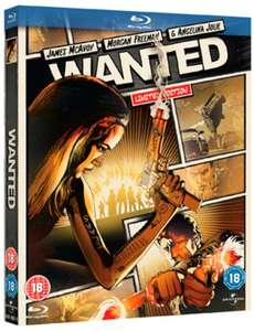 Wanted - Limited Reel Heroes Edition (Blu-ray) für 3,10€