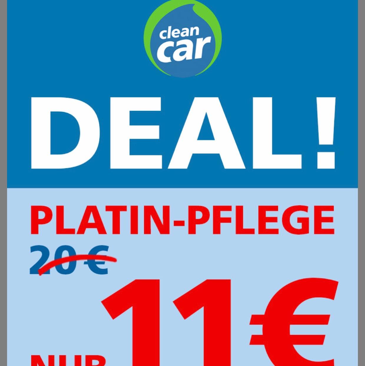 CleanCar nur in Berlin gültig, bis 18.02.2018