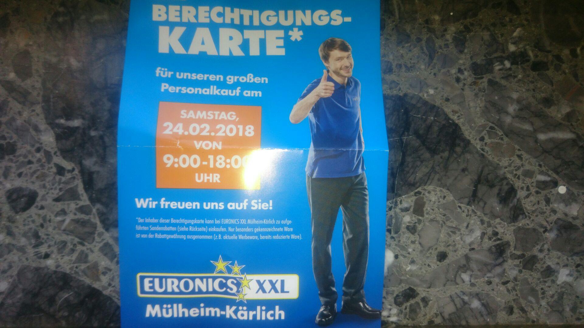 [Lokal] Euronics Mülheim Kärlich