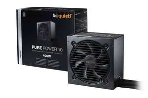 "be quiet!™ - PC ATX-Netzteil ""Pure Power 10 400W (BN272)"" [80 PLUS Silver zertifiziert] ab €42,73 [@Digitalo.de]"
