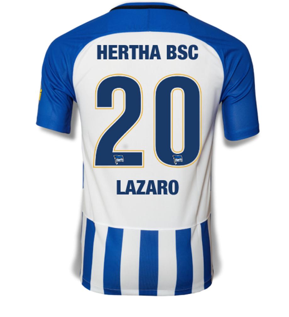 Hertha BSC Trikot mit Valentin(o) Lazaro Flock nur am Valentinstag
