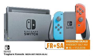 Nintendo Switch neon rot/blau- Lokal Saturn Trier