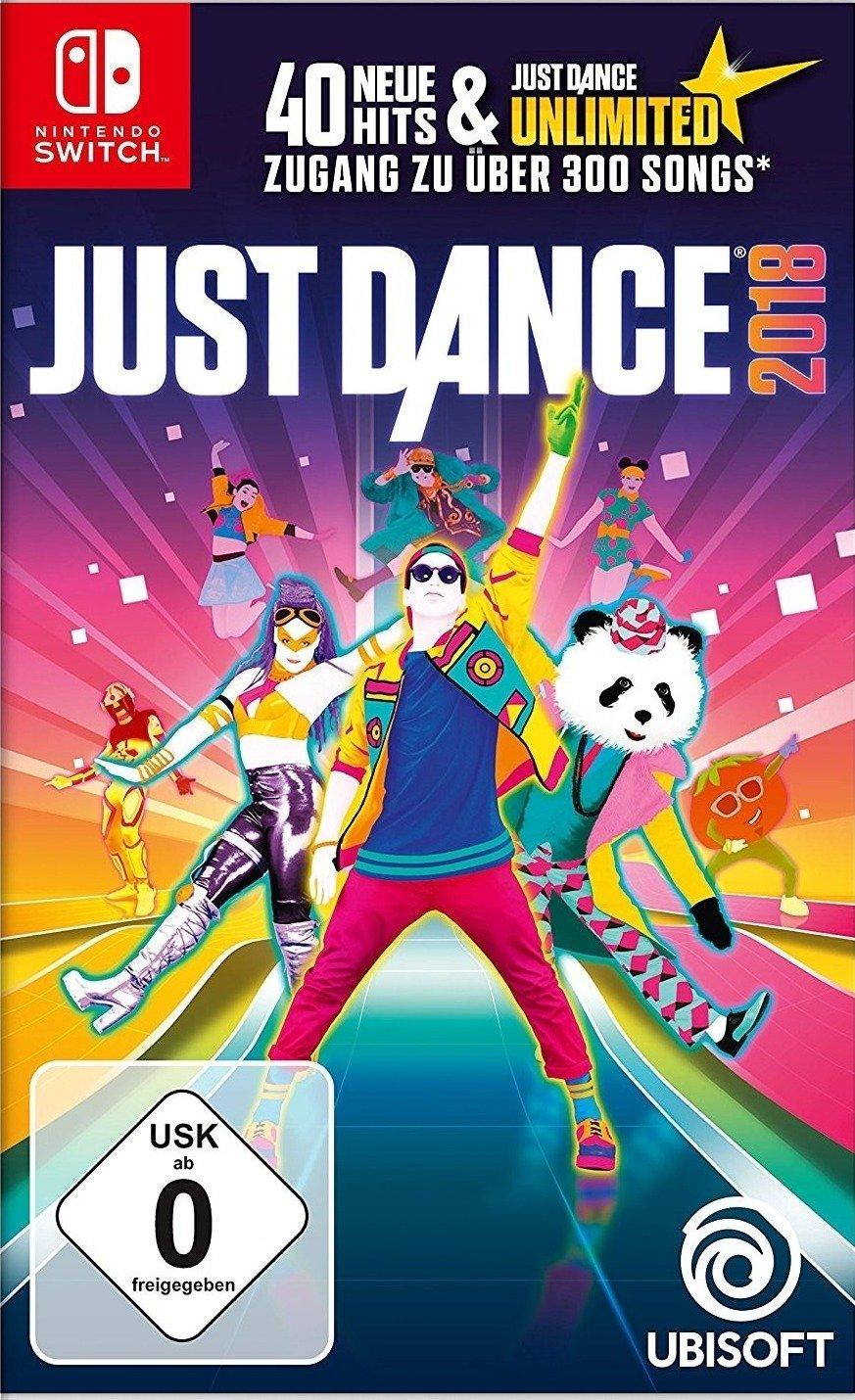 Just Dance 2018 für die Nintende Switch (mit Ubisoft Club Units sogar noch billiger)