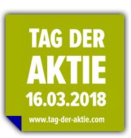 [16.03.2018] Tag der Aktie - Ausgewählte Aktien/ETFs gebührenfrei kaufen