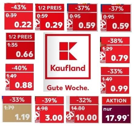 Kaufland: Sammeldeal für die Angebote ab Donnerstag 22.02. - ein paar Highlights