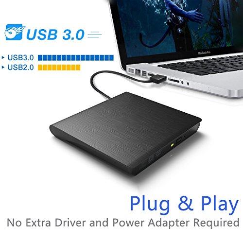 Externes CD DVD Laufwerk USB 3.0