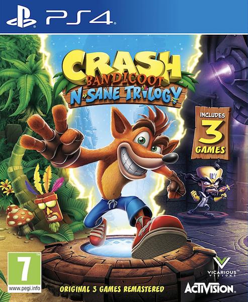 Crash Bandicoot N.Sane Trilogy (PS4 Code) für 18,33€ (CDKeys)