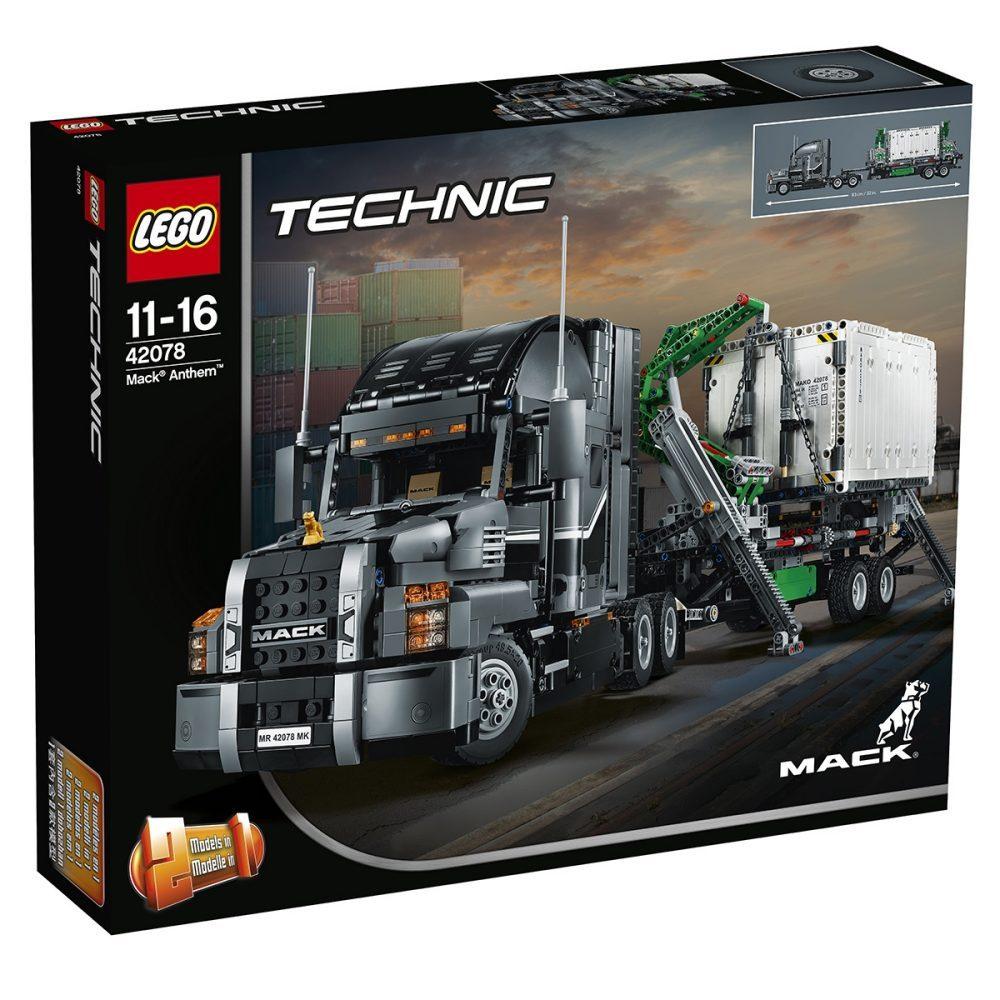 Interspar.at - LEGO Technic 42078 Mack Anthem für 115,90€ (Newsletter Gutschein)