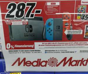 (LOKAL) Media Markt Weiden / Nintendo Switch Neon