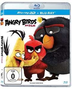 Angry Birds: Der Film (3D Blu-ray +2D) für 8,09€ (Amazon Prime & Dodax)