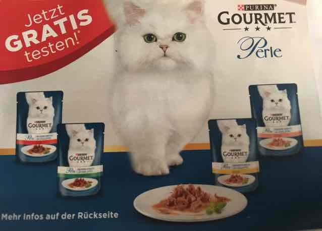 Purina Gourmet Perle - bis zu vier gratis testen ab 01.03.18 [GZG]