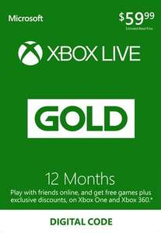 12 Monate XBox Live Gold [nokeys.com]