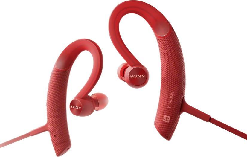 [Voelkner] Sony Bluetooth® Sport Kopfhörer MDR-XB80BSR In Ear Headset, Ohrbügel, Schweißresistent, Wasserabweis