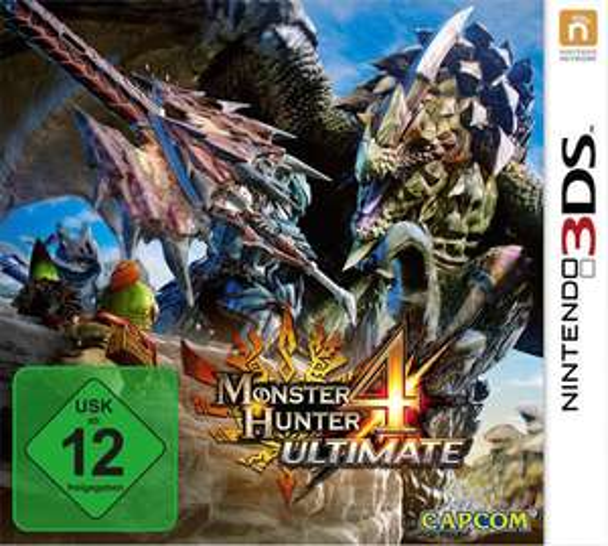 Monster Hunter 4: Ultimate (3DS) für 19,96€ (GameStop)