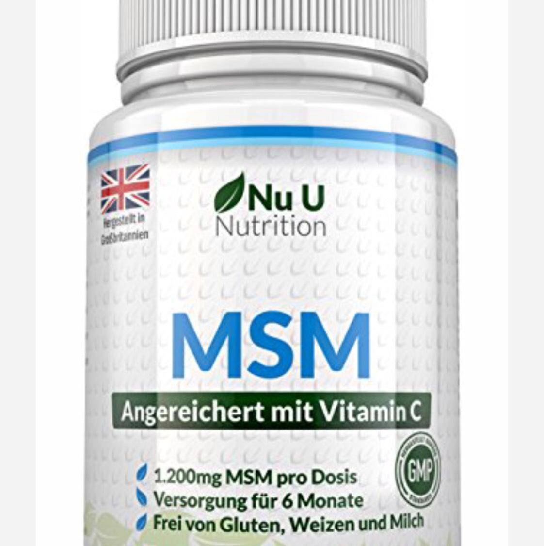 [AMAZON] MSM - Organischer Schwefel für diverse Beschwerden