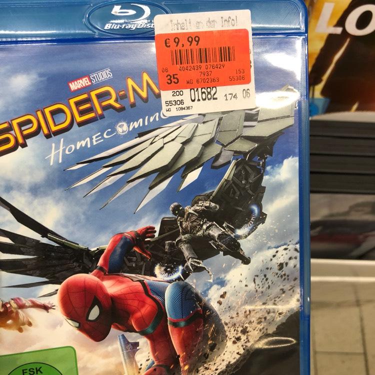 [Bundesweit] Spiderman Homecoming Bluray im Kaufland Dresden-Striesen