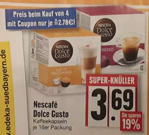 4x nescafe dolce gusto packungen kaufen aber nur 3. Black Bedroom Furniture Sets. Home Design Ideas