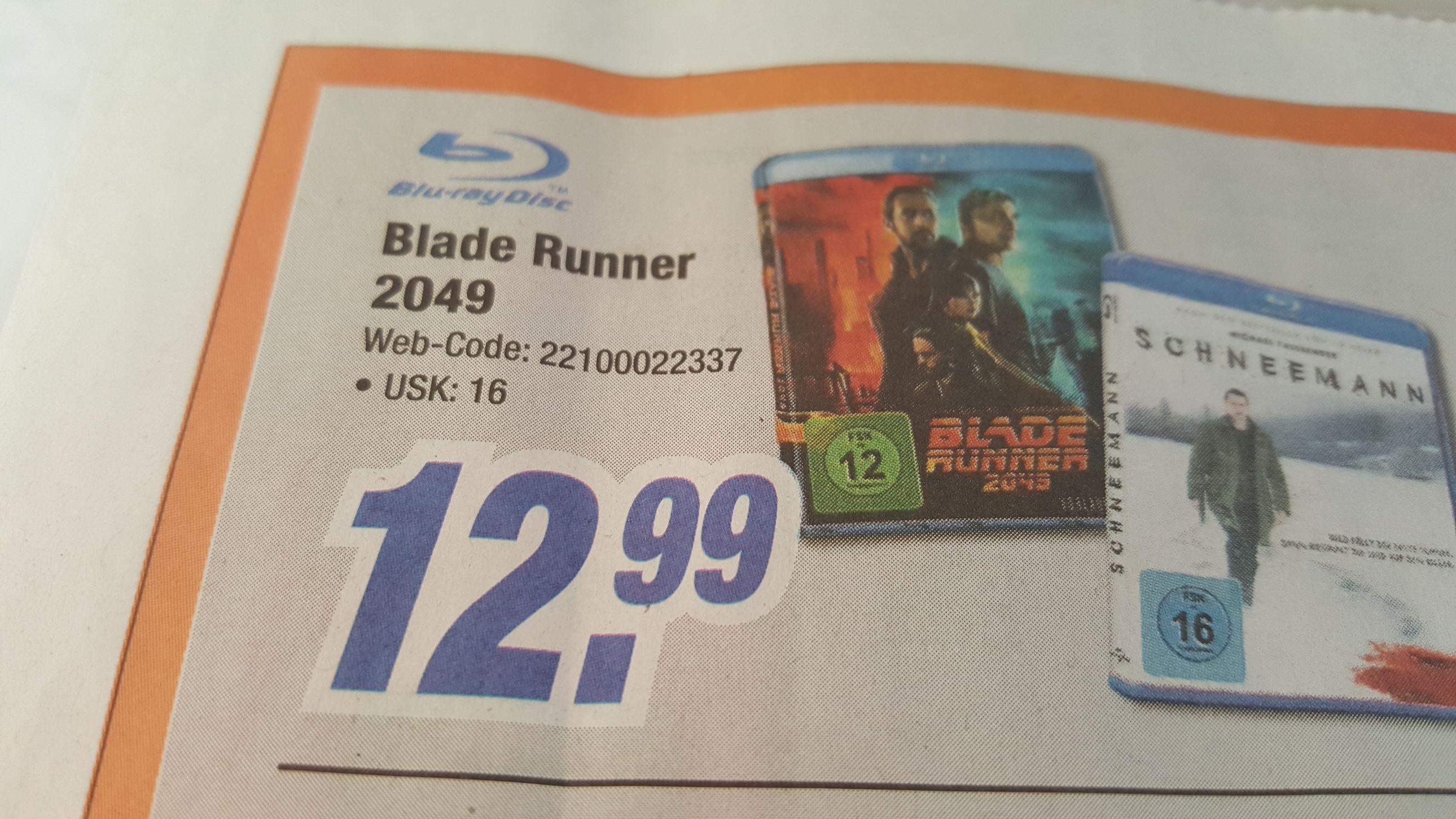 Blade Runner 2049 Blu-ray bei Expert