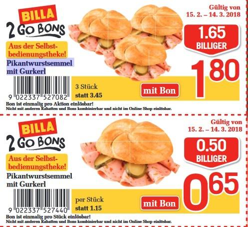 [AT Grenzgänger] Pikantwurstsemmel mit Gurkerl für 0,65€ - 3er Multikauf nur 1,80€ + Schwechater Bier 24er Tray für 12€