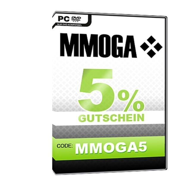 MMOGA Gutscheincode 5%! Wochenend deal
