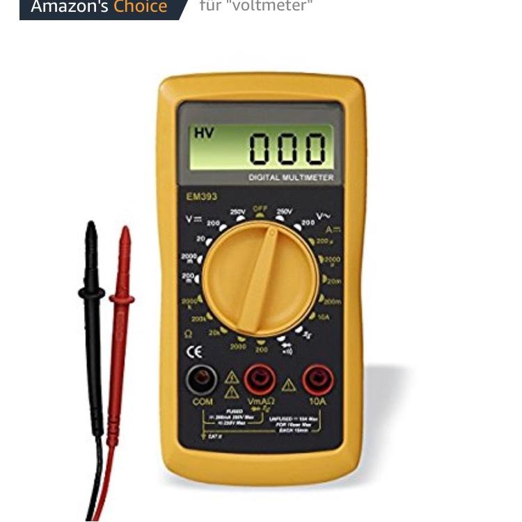 Hama Multimeter, für alle Hobbyelektroniker im Amazon Tagesangebot